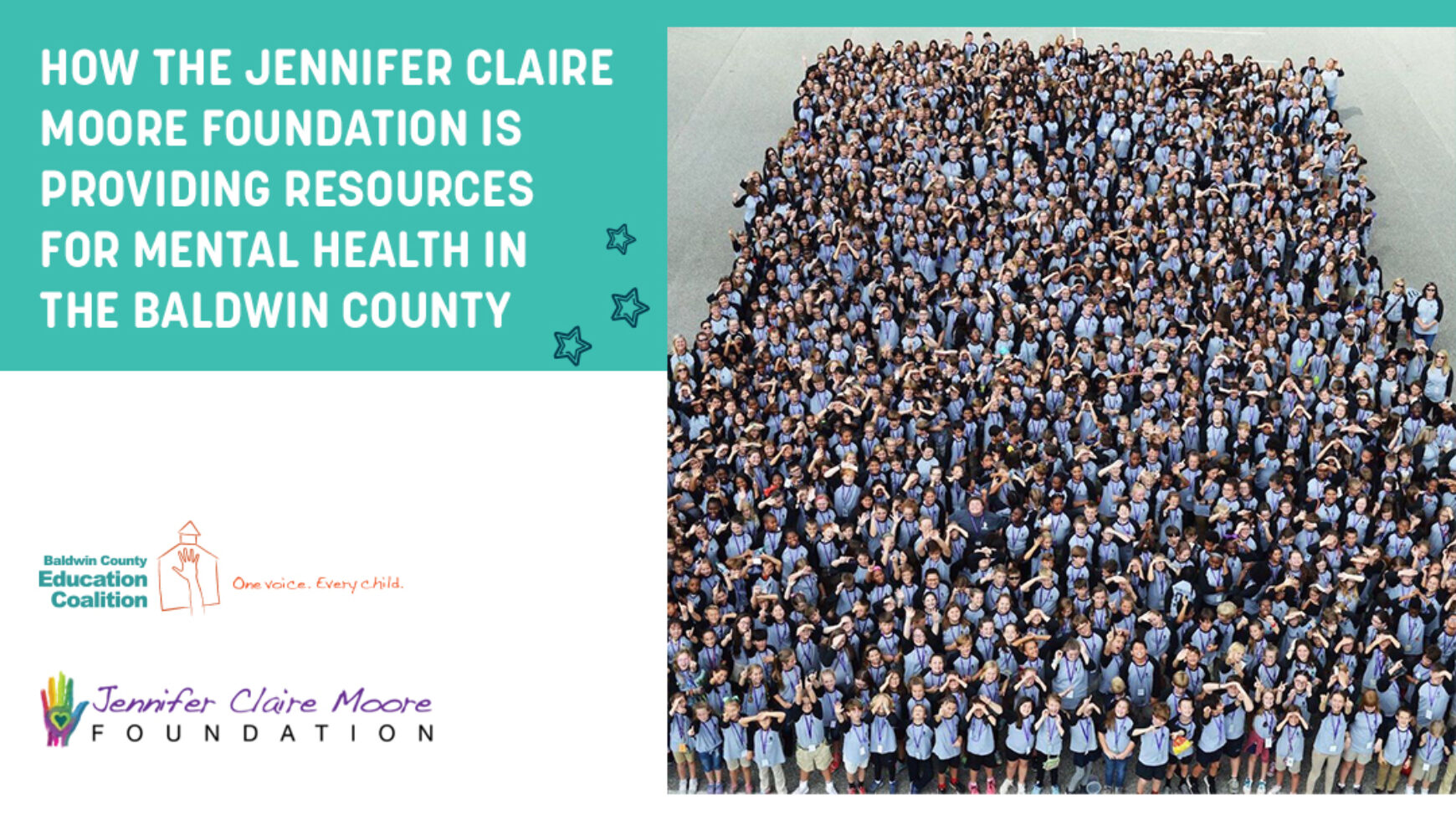 How The Jennifer Claire Moore Foundation Is Providing Resources for Mental Health in the Baldwin County Community